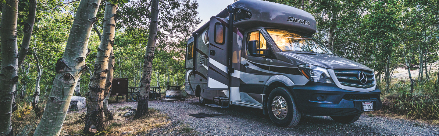 Class C RV rental in san diego
