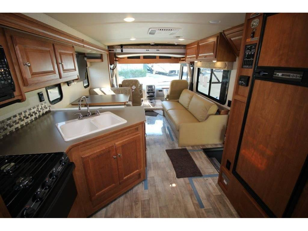 San Diego California RV rental interior