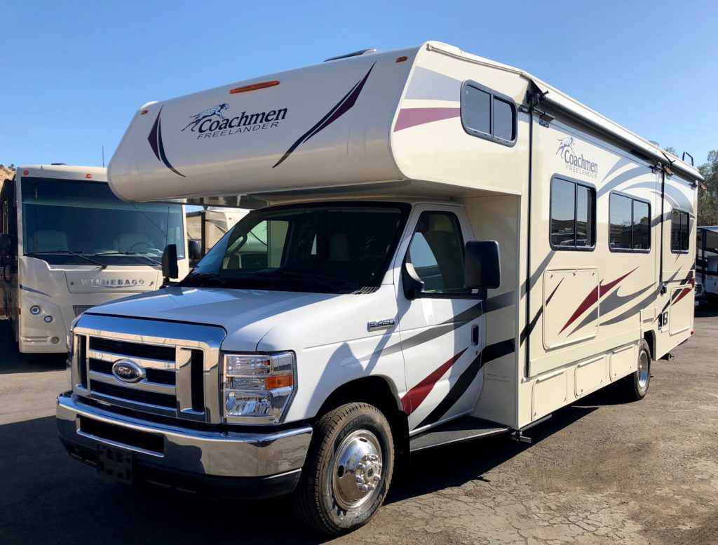 Coachmen Freelander RV rental in San Diego California