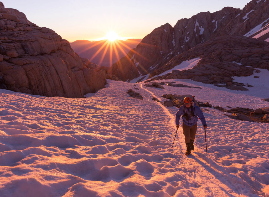 Hiking Mount Whitney in Sequoia National Park