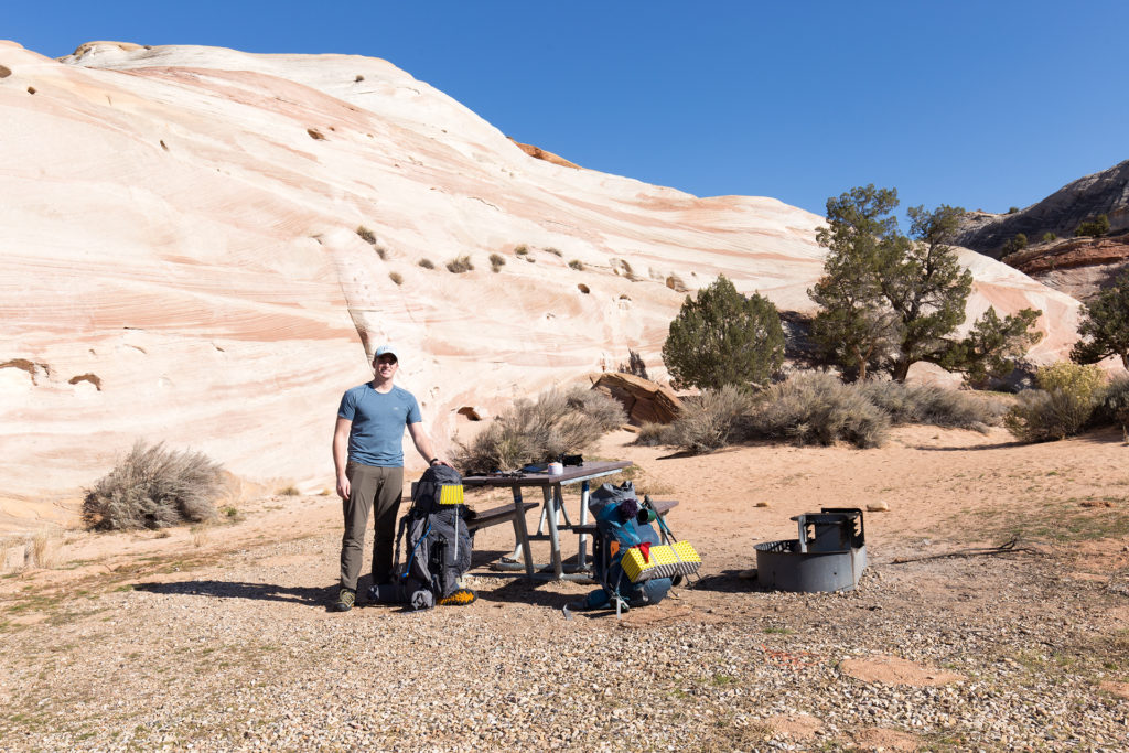 Backpacking Trip Paria Canyon