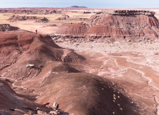 Camping Backcountry Painted Desert