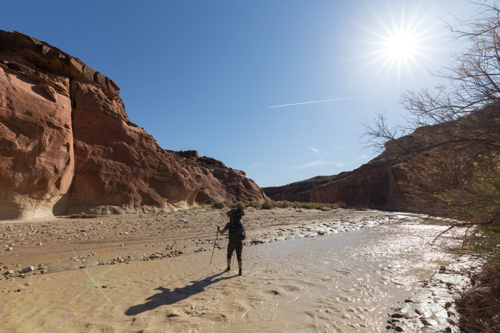 Hiking Paria Canyon in Utah