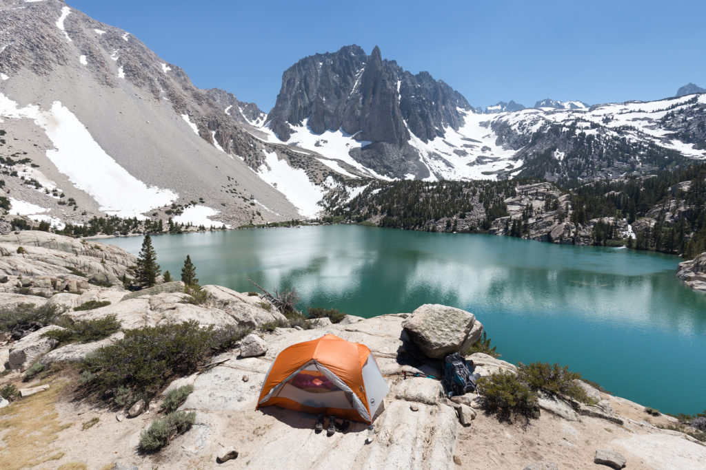 Places to Camp in California Big Pine Creek
