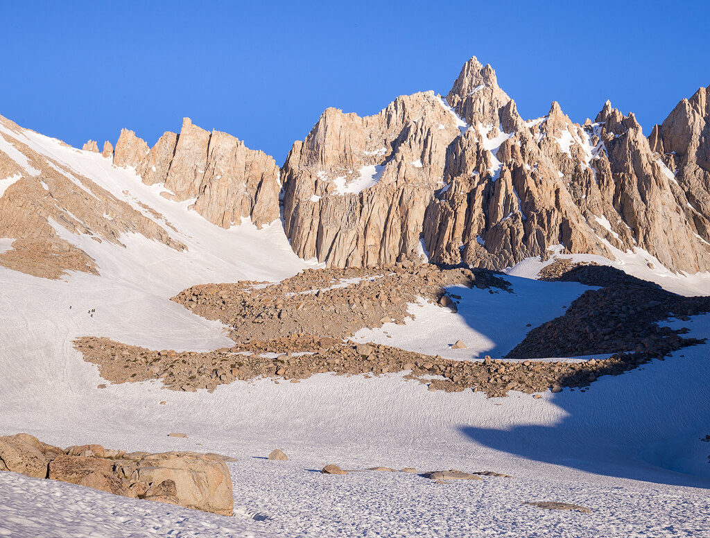 Trail Crest Mt Whitney in Sequoia National Park