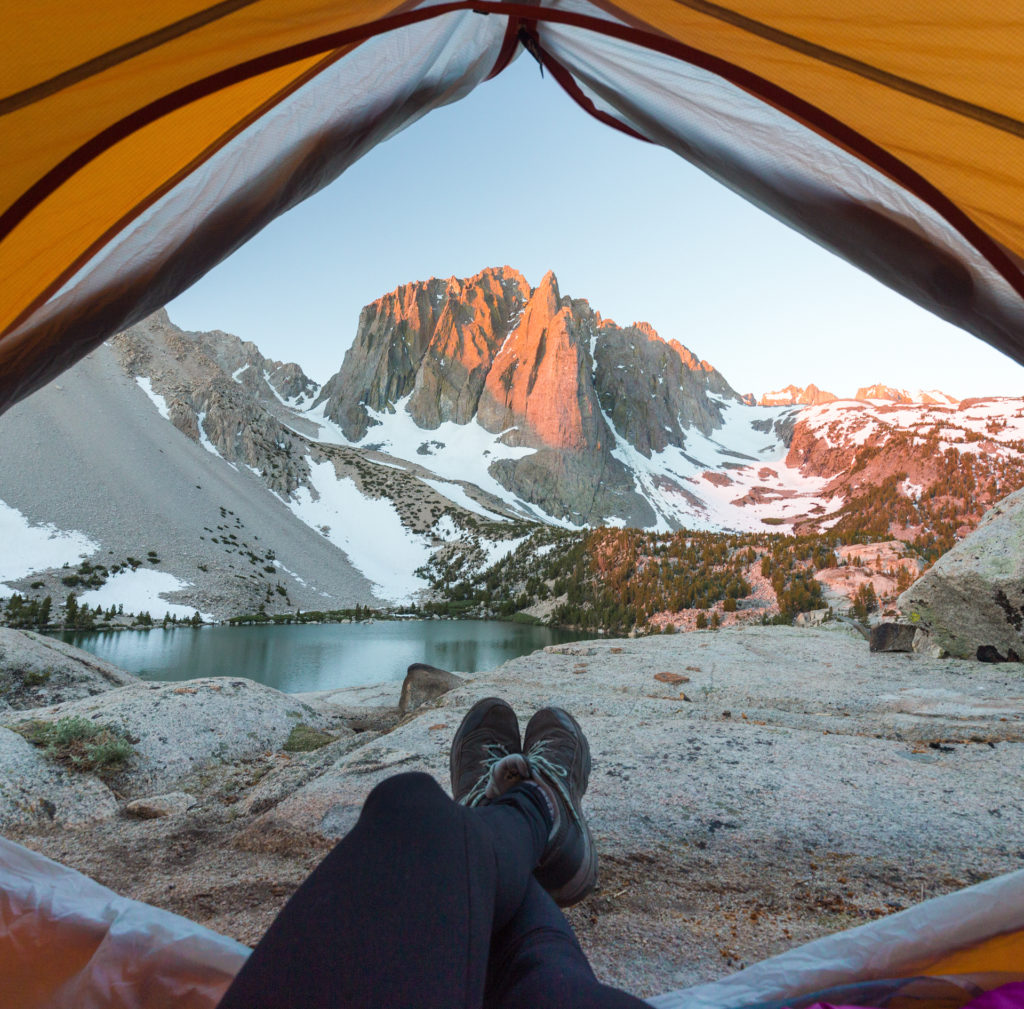 Big Pine Lakes Places to Camp in California