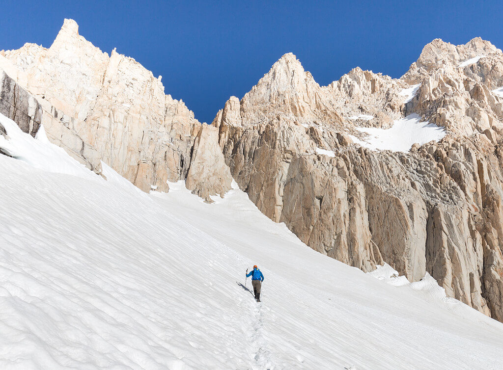 Mt Whitney Elevation in Sequoia National Park