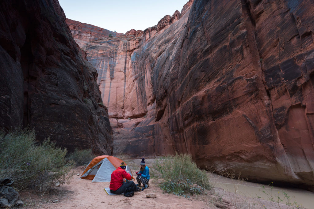 Camping in Utah's Paria Canyon