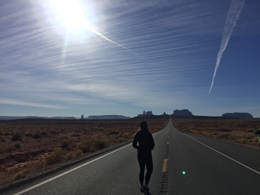 Forrest Gump Point in Monument Valley
