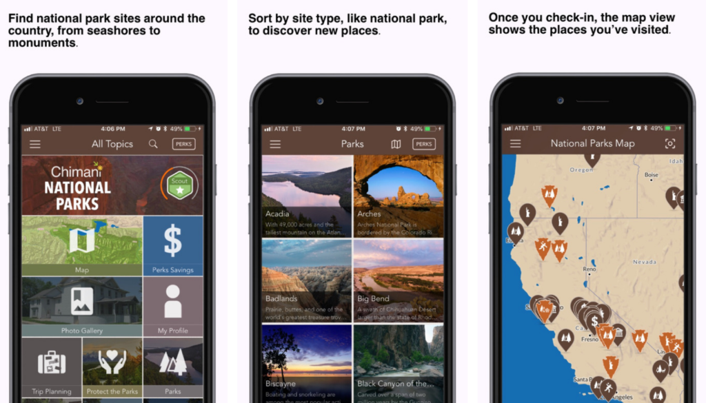 Best National Park App