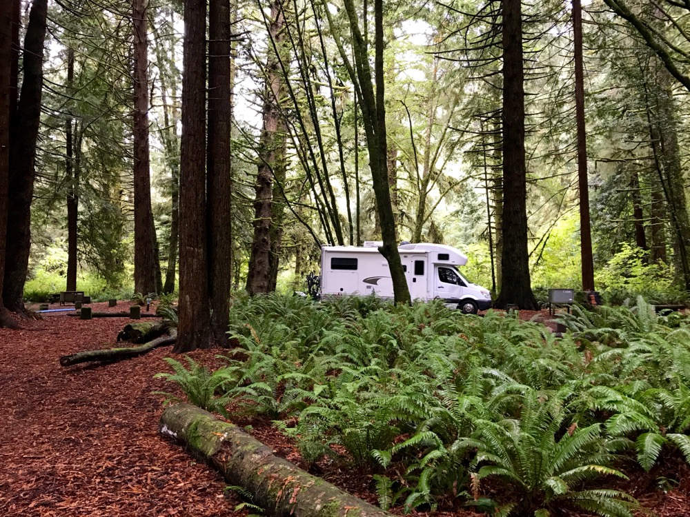camping with san diego rv rental