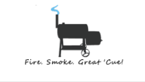 fire smoke great 'cue logo