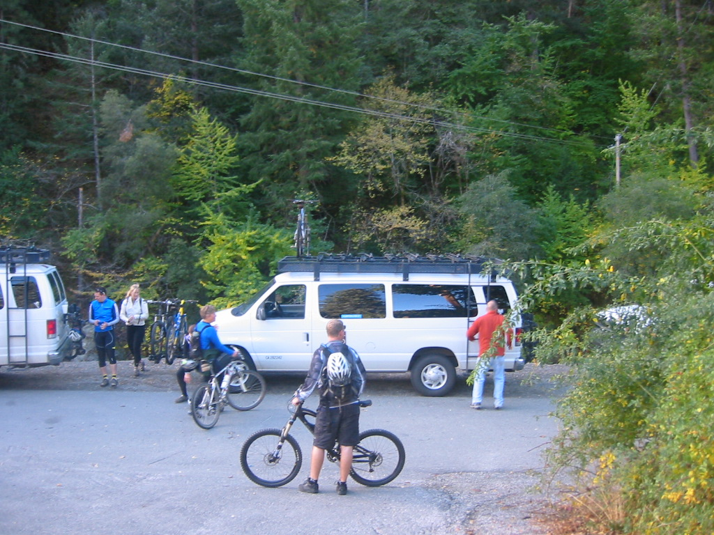 Shuttle from downtown Downieville