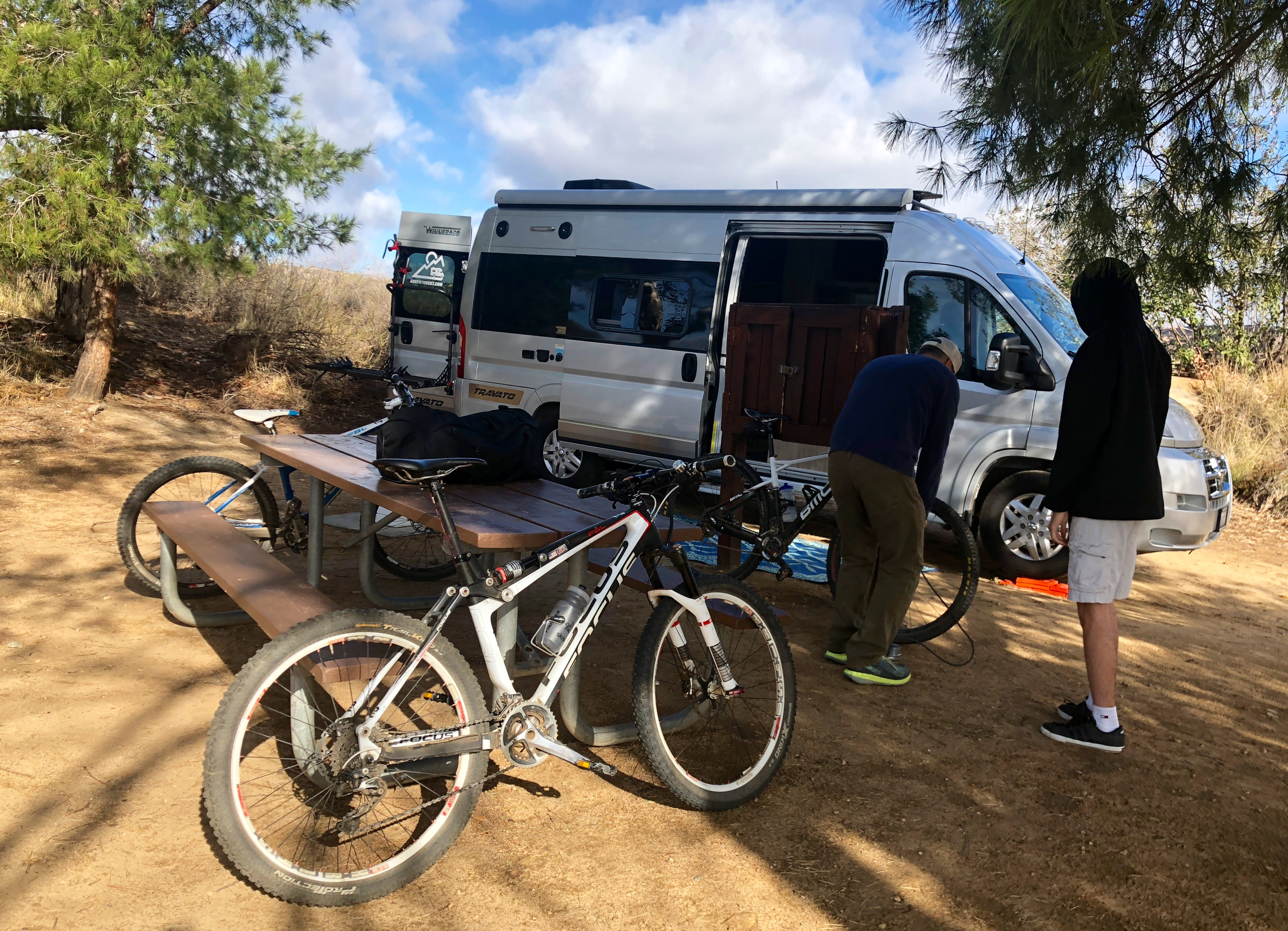 bikes and rv camper van rental from San Diego