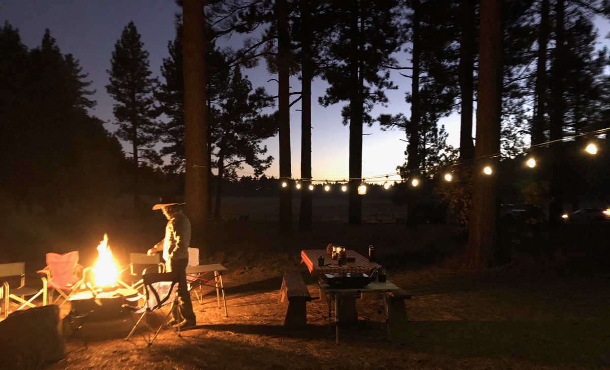 Camping Under the Mount Laguna Pines