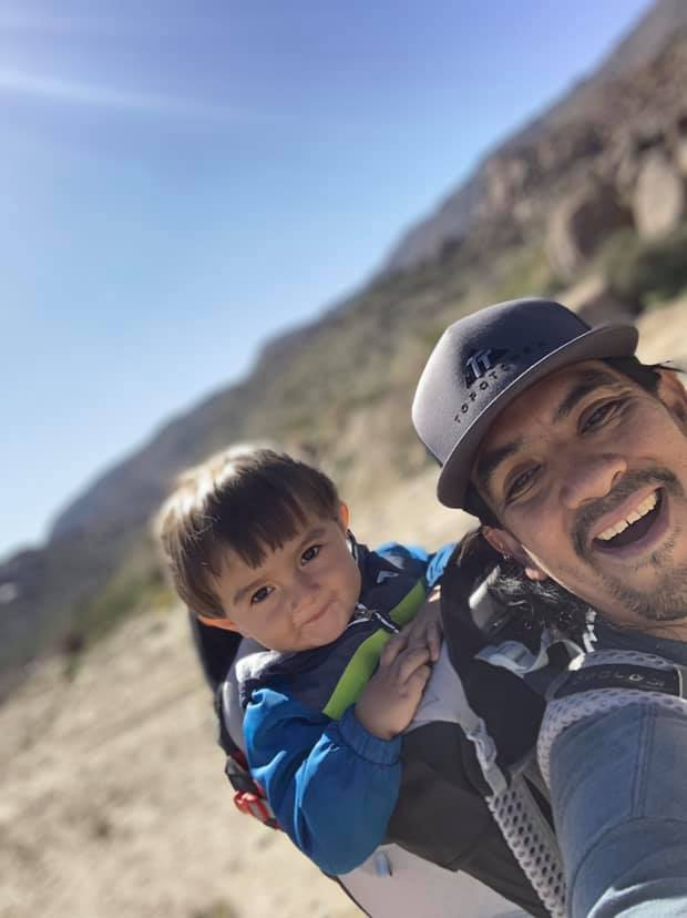 Hiking with toddler