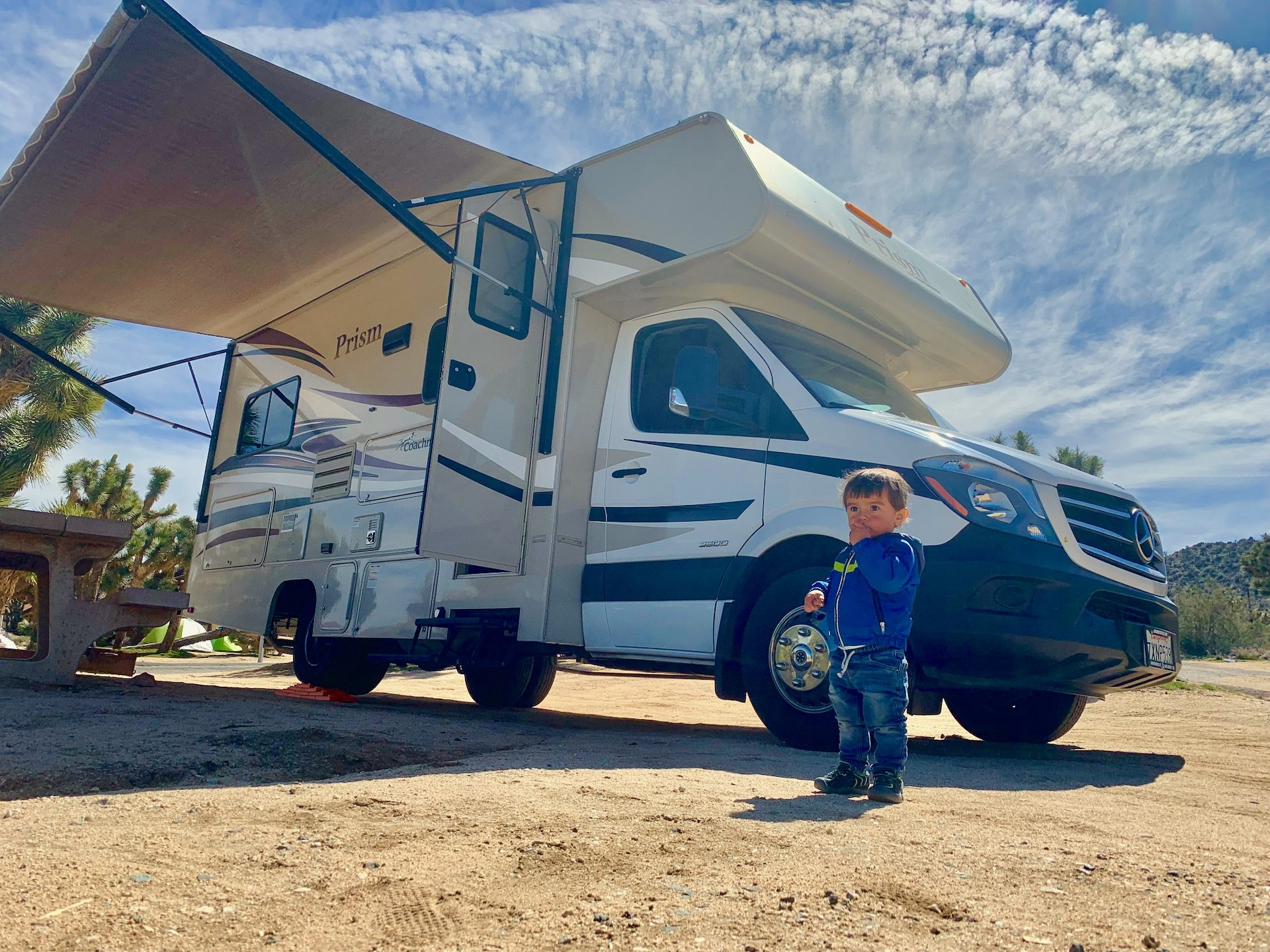 Travel with RV rental