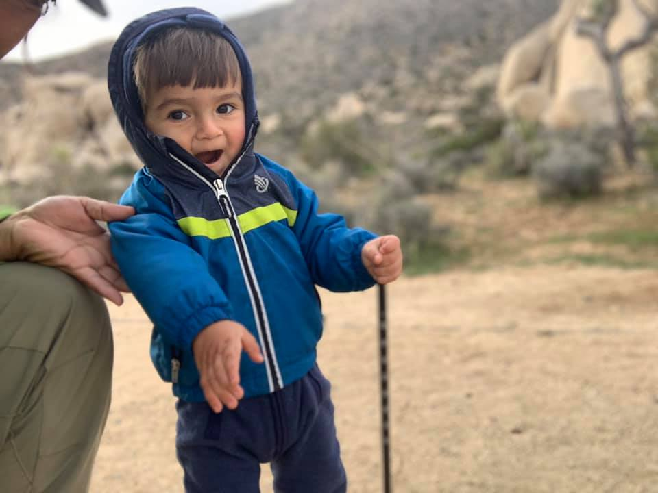 Hiking trip with toddler