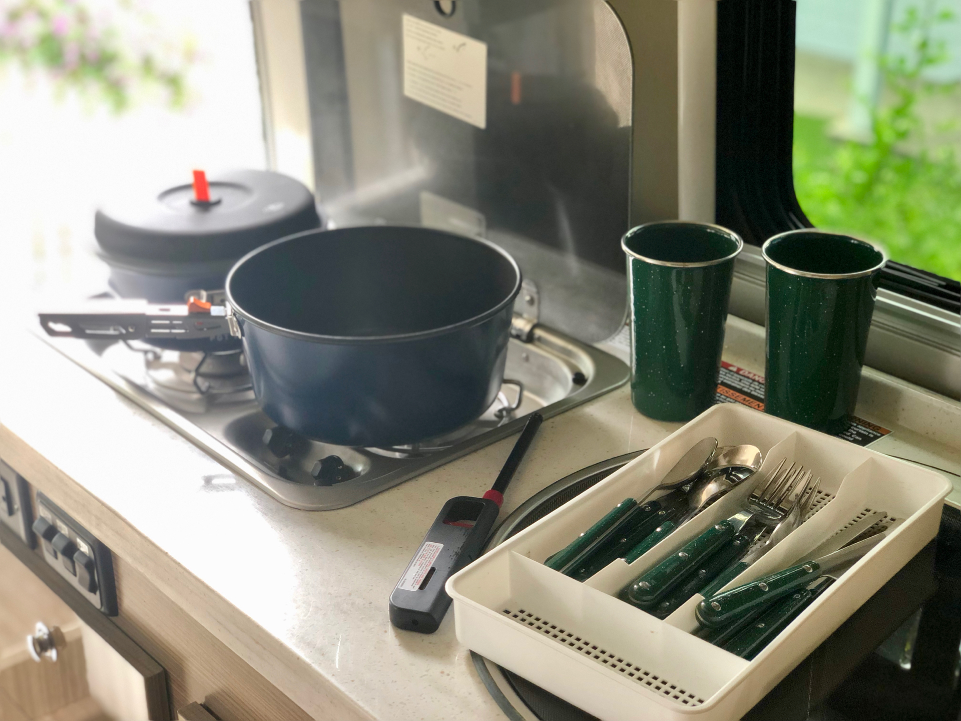 Cooking in San Diego rv rental