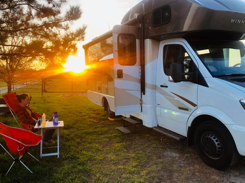 Free RV Camping at Winery in Texas