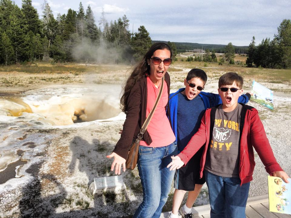 RV Family Yellowstone National Park