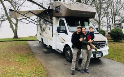 Family ready for RV roadtrip