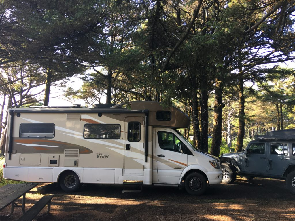 Beachside State Recreation Site RV Campground