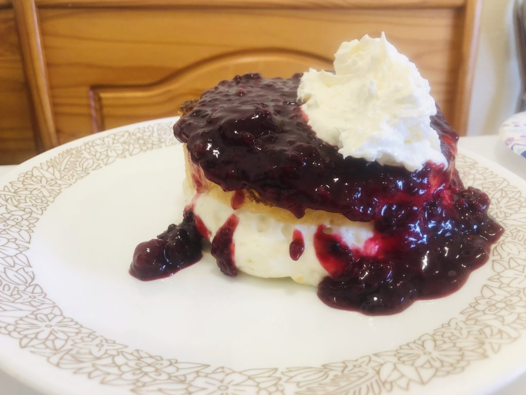 Fishtails Cafe Marionberry French Toast