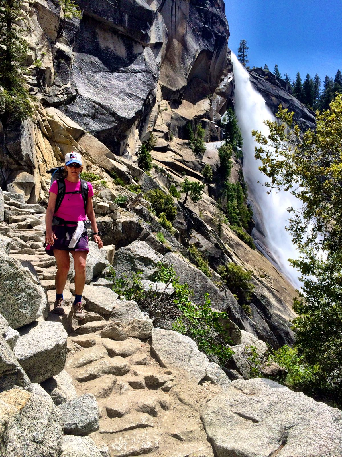 Hiking Vernal Falls
