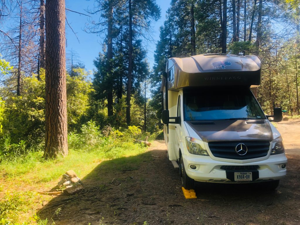 Sierra National Forest Wild Camping Near Yosemite